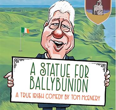 Statue for Ballybunion